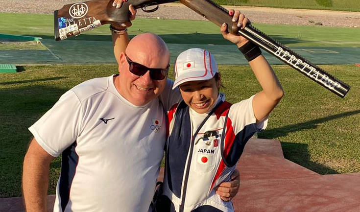 Nakayama wins Bronze and Olympic quota in Asian Championships